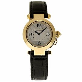 Cartier Pasha WJ11891G Gold 32.0mm Womens Watch