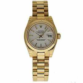 Rolex Datejust 179168 Yellow Gold 26.0mm Womens Watch