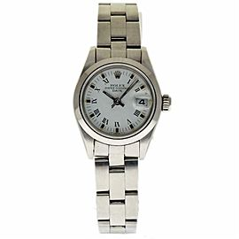 Rolex Date 69160 Steel 26.0mm Womens Watch