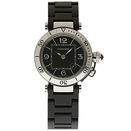 Cartier Pasha W3140003 Steel 33.0mm Womens Watch