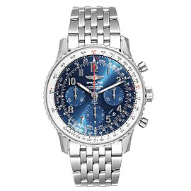 Breitling Navitimer 01 Blue Dial Limited Edition Watch AB0121 Unworn