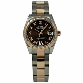 Rolex Datejust 178341 Steel 31.0mm Womens Watch