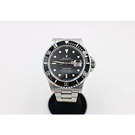 Rolex Submariner 16800 Black Dial Stainless Steel