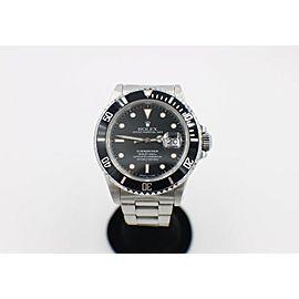 Rolex Submariner 16800 Black Dial Stainless Steel