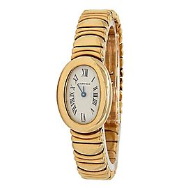 Cartier Baignoire 18k Yellow Gold Quartz Ladies Watch 1960