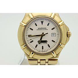 Krieger Watch K929 18K Yellow Gold De Marine Limited Edition Chronometre 40mm