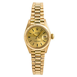 Rolex Datejust 6917 Yellow Gold 26mm Womens Watch