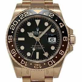 Rolex Gmt Master Ii 126715 Gold 40mm Watch