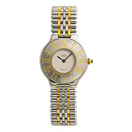 Cartier Must 21 9010 Steel 31mm Womens Watch