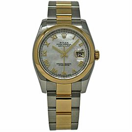 Rolex Datejust 116203 Steel 36.0mm Womens Watch