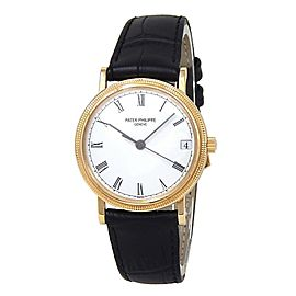 Patek Philippe Calatrava 18k Yellow Gold Automatic Men's Watch 3802