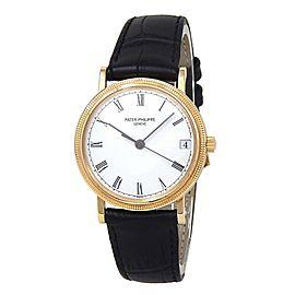Patek Philippe Calatrava 18k Yellow Gold Automatic Men's Watch 3802