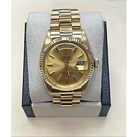Rolex Day Date President 1803 18K Yellow Gold Champagne Dial