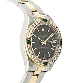 Rolex Datejust 69173 Steel 26mm Women Watch