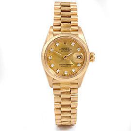 Rolex 6927 Gold 26.00mm Women Watch