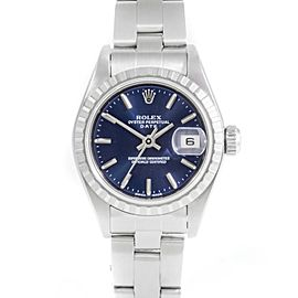 Rolex Date 79240 Steel 26mm Women Watch