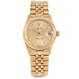 Rolex 6827 Gold 31.00mm Women Watch