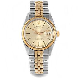 Rolex 1601 Steel 36.00mm Watch