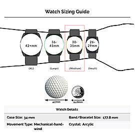 Rolex Oyster Perpetual 6480 Steel 34.0mm Watch