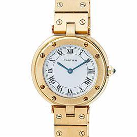 Cartier Vendome 1521 Gold 27.0mm Women Watch