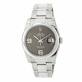 Rolex Datejust 116200 Steel 36.0mm Watch