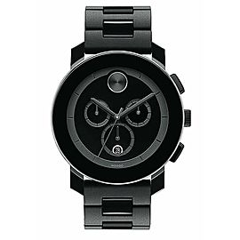 MOVADO MEN'S BOLD TR90 3600048 SWISS QUARTZ CHRONOGRAPH BLACK WATCH