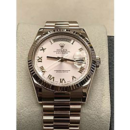 Rolex President Day Date 118235 18K Rose Gold Pink Roman Dial Box & Papers 2008