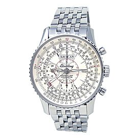 Breitling Montbrillant Datora Stainless Steel Automatic Chronograph Watch A21330