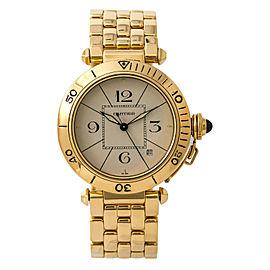 Cartier Pasha 820907 Gold 38mm Watch