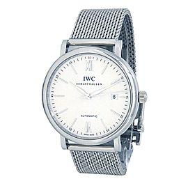 IWC Portofino Stainless Steel Automatic Men's Watch IW356505