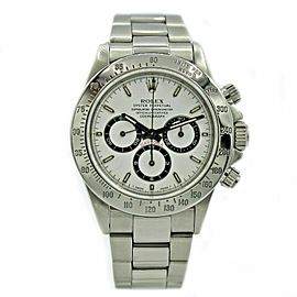 Men's Rolex Daytona Stainless Steel w/ White Dial 16520 Zenith