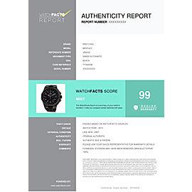 Breitling Bentley VB0432 Titanium 49.0mm Watch