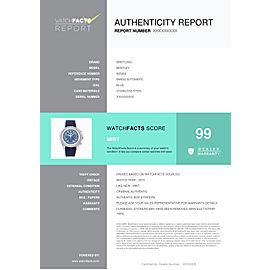 Breitling Bentley A25362 Steel 48.7mm Watch