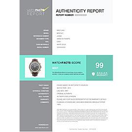Breitling Bentley J44362 Gold 47.0mm Watch
