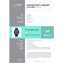 Breitling Superocean M13320 Steel 46.0mm Watch