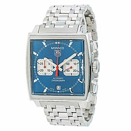 Tag Heuer Monaco CW2113-0 Steel 38.0mm Watch