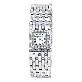Cartier Panthere Ruban 18k White Gold Quartz Ladies Watch 2422