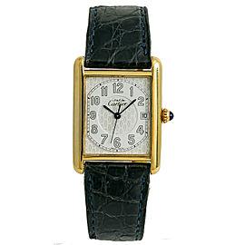 Cartier Must 21 2413 Gold 25mm Watch