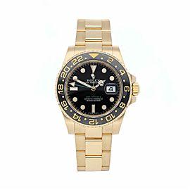Rolex Gmt Master Ii 116718 Gold 40.0mm Watch
