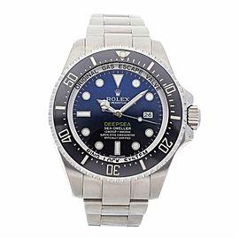 Rolex Sea-dweller 116660BK Steel 44.0mm Watch