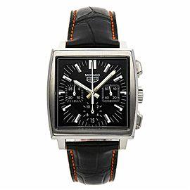 Tag Heuer Monaco CS2111 Steel 38.0mm Watch