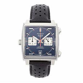 Tag Heuer Monaco CAW211P. Steel 39.0mm Watch
