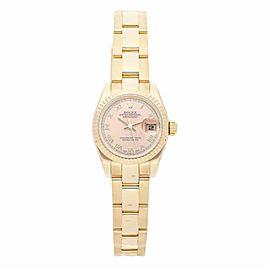 Rolex Datejust 179178 Gold 26.0mm Women Watch