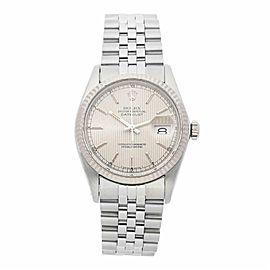 Rolex Datejust 16014 Steel 36.0mm Watch