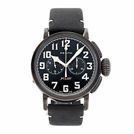 Zenith Pilot 11.2432. Steel 45.0mm Watch