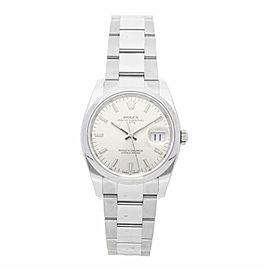 Rolex Date 115200 Steel 34.0mm Watch