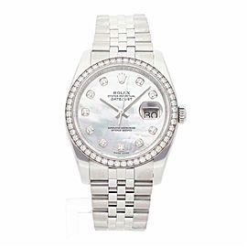 Rolex Datejust 116244 Steel 36.0mm Women Watch