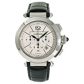 Cartier Pasha W3108555 Steel 42mm Watch