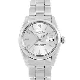 Rolex 1500 Steel 34mm Watch