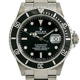 Rolex Submariner 16610 Steel 40mm Watch (Certified Authentic & Warranty)